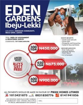 Plots of Land, Iberekodo, Ibeju Lekki, Lagos, Residential Land for Sale