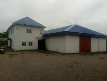 Warehouse (700 Sqm) +2 Units 4 Bedrooms Flat and Office Building, Kurudu, Abuja, Warehouse for Sale