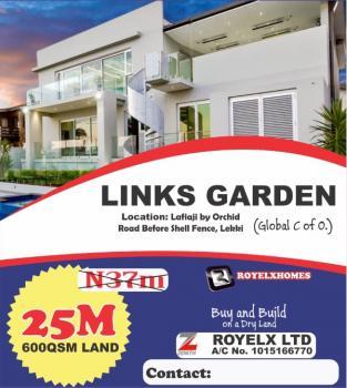 Estate Land, Before Shell Estate, Lafiaji, Lekki, Lagos, Commercial Land for Sale