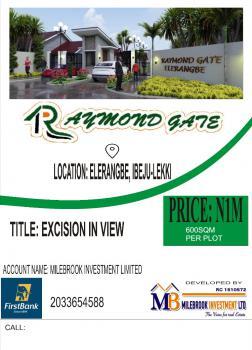 Raymond Gate Elerangbe, Ibeju Lekki, Lagos, Mixed-use Land for Sale