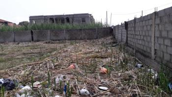 a Plot of Dry Land Fenced and Gated in a Very Goodloc, with  Consent, Harmony Estate Off Langbasa Road Ajah Lekki Lagos, Ado, Ajah, Lagos, Residential Land for Sale
