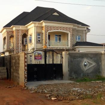 Newly Built 5 Bedroom Duplex with 2 Bedroom and Mini Flat on Full Plot of Land, Diamond Est Command, Ipaja, Lagos, Detached Duplex for Sale