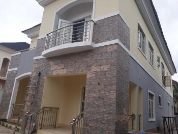Clean 4 Bedroom Flat with a Room Bq, Emmanuel Udom Street, Apo Resettlement, Apo, Abuja, Detached Duplex for Rent