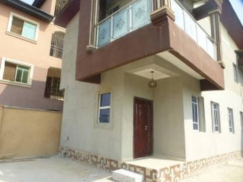 2 Wings of 4 Bedroom Duplex (front & Rear), Canal Estate 2, Oke Afa, Isolo, Lagos, Terraced Duplex for Sale