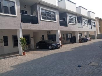 Lovely and Well Maintained 3 Bedroom Serviced Terraced Duplex with a Room Bq, Fitted Kitchen, Swimming Pool, Spring Bay Estate, Ikate Elegushi, Lekki, Lagos, Terraced Duplex for Sale