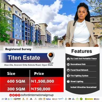 Land, Titen Estate, Adekoyeni, Atan Ota, Ado-odo/ota, Ogun, Mixed-use Land for Sale