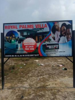 Hottest Luxury & Gazetted Plots, Royal Palms Villa, Siriwon, Hot Gazetted Plots About 5 Mins Drive to The Dangote Petrochemical Industry, Ibeju Lekki, Lagos, Residential Land for Sale