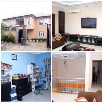 Sharp 4 Bedroom Detached Duplex with Bq, Isheri Phase1, Gra, Magodo, Lagos, Detached Duplex for Sale