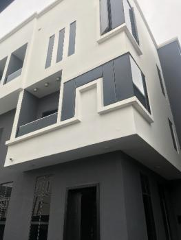 Very Lovely Beautiful 4 Bedroom  Spacious Semi Detached Terrace Duplex with 2 Sitting Room , Big Kitchen , Bq and Private Compound, Osapa London, Osapa, Lekki, Lagos, Semi-detached Duplex for Rent