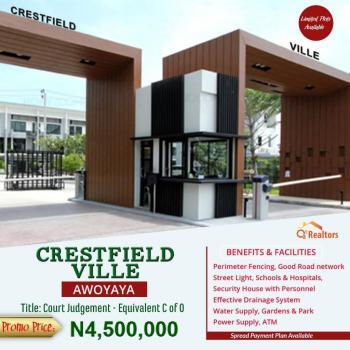 Estate Land Government Approved, Behind Safara Garden, Awoyaya, Ibeju Lekki, Lagos, Residential Land for Sale