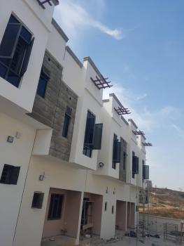 Porsche & Serviced 2 Bedrooms Terrace Duplex with Boys  Quarters, Off Aliyu Modibbo Way, Guzape District, Abuja, Terraced Duplex for Rent