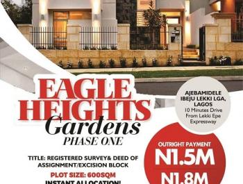 Estate Land Dry Government Excisions, Close to Pan Atlantic University and Proposed Airport, Ibeju Lekki, Lagos, Land for Sale