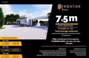 600 Sqm Estate Land, Frontier Estate, Bogije, Ibeju Lekki, Lagos, Residential Land for Sale