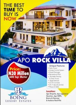 Apo Rock Villa Abuja, 10mins From The National Stadium, Apo, Abuja, Land for Sale