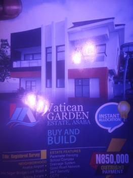Cheap Land Available (vatican Garden Estate), Behind Asaba Airport and 2nd Niger Bridge Proposed Link Road, Asaba, Delta, Residential Land for Sale