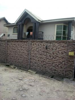 Luxury Massive 5 Bedroom Duplex Plus 3 Bedroom Upstairs and Downstairs and Mini Flat Bq Sitting on 1and Half Plot, Behind Chivita, Ajao Estate, Isolo, Lagos, Detached Duplex for Sale