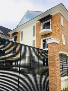 Fully Serviced 5 Bedroom Semi Detached Duplex with a Bq, Chevron, Lekki, Lagos, Semi-detached Duplex for Rent