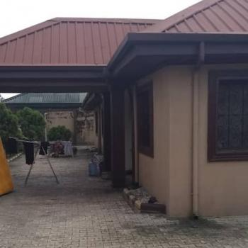 King Size 4 Bedroom Stand Alone Bungalow in an Estate, Woji, Port Harcourt, Rivers, Detached Bungalow for Rent