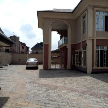 4 Bedroom Detached Duplex with 2 Units of 3 Bedrooms Flat Sitting on 2 Plots of Land., New Oko-oba, Agege, Lagos, Detached Duplex for Sale