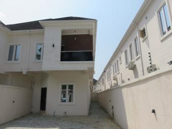 Serviced 4 Bedroom Semi-detached Duplex with a Room Bq, Conservative Court Estate, Lekki Expressway, Lekki, Lagos, Semi-detached Duplex for Rent