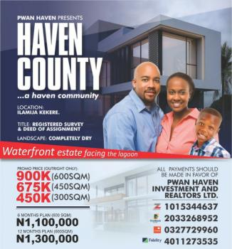 Estate Land  Dry, Close to Pan Atlantic University and Proposed Airport, Ibeju Lekki, Lagos, Residential Land for Sale