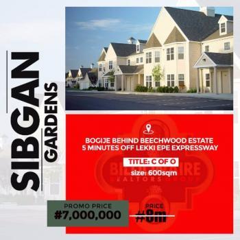 Sibgan Gardens, Behind Beechwood Estate, Bogije, Ibeju Lekki, Lagos, Land for Sale