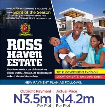 600 Sqm Rose Haven, Lftz - Rose Haven Estate, Lftz, Ibeju Lekki, Eleko, Ibeju Lekki, Lagos, Residential Land for Sale