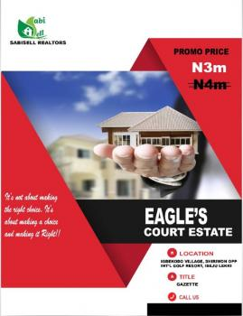 Eagles Court Estate with Excellent Facilities, Free Trade Zone, Ibeju Lekki, Lagos, Mixed-use Land for Sale