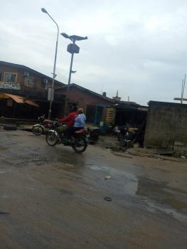Demolish-able Bungalow, Adeyemi Street, Oshodi, Lagos, Mixed-use Land for Sale