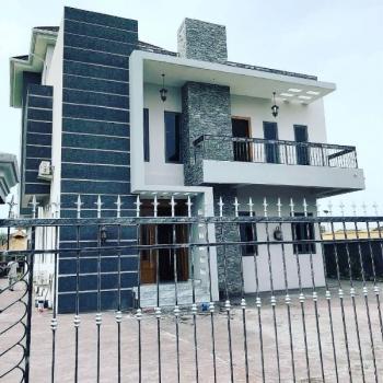 Brand New 5 Bedroom Mansion Duplex Sitting on a 600sqm, Pinnock Beach Estate, Osapa, Lekki, Lagos, Detached Duplex for Sale