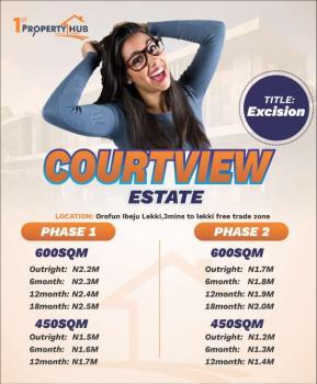 Luxury Ocean View Estate, Folu Village.opp.la Champagne Tropicana Resort,along Ftz Road,, Folu Ise, Ibeju Lekki, Lagos, Land for Sale