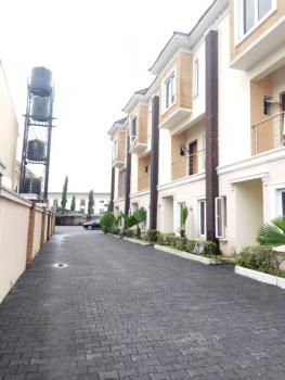 Newly Built and Spacious 4 Bedroom Terrace Duplex with Bq, Osapa Area, Lekki, Lagos, House for Rent