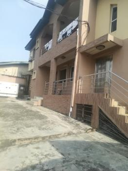 a Luxury 2 Bedroom Flat with All Rooms En Suite with Floor Tiles and Modern Amenities and Fittings in an Estate, Ogba, Ikeja, Lagos, Flat for Rent