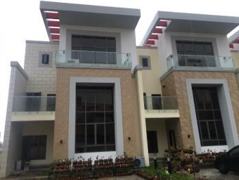 Newly Finished 4 Bedroom Terrace+swimming Pool +bq, Osborne, Ikoyi, Lagos, Semi-detached Duplex for Rent