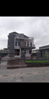 5 Bedroom Luxury Duplex with One Room Bq, Pinnock Beach Estate, Osapa, Lekki, Lagos, Detached Duplex for Sale
