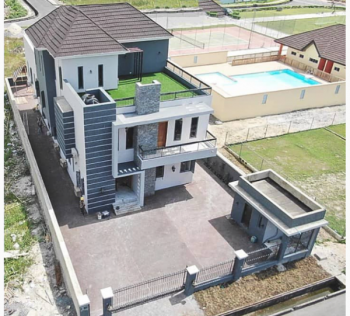 Luxury 5 Bedroom Detached Duplex with Bq, Pinnock Beach Estate, Osapa, Lekki, Lagos, Detached Duplex for Sale