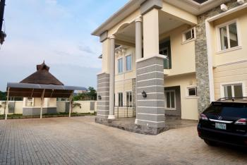 Well Finished 5bedroom Semi Detached House with 2 Room Guest Charlet, 2room Bq and Swimming Pool, By Npc Road, Guzape District, Abuja, House for Sale