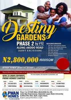 Estate Land, Akodo Road, Lekki Free Trade Zone, Lekki, Lagos, Mixed-use Land for Sale