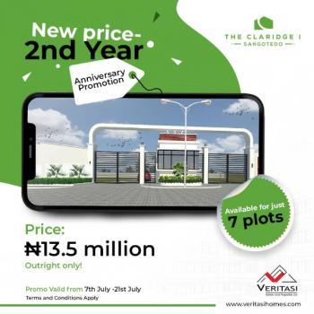 Claridge 1 Estate, Sangotedo, Ajah, Lagos, Residential Land for Sale
