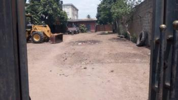 1466sqm(2+quarter Plot of Land)with 6 Bedroom Bungalow Office, Directly on Lagos-abeokuta Expressway, Abule Egba, Agege, Lagos, Commercial Land for Sale
