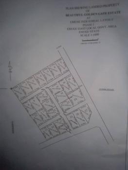 Plots of Land, Golden Estate, Emene, Enugu, Enugu, Residential Land for Sale