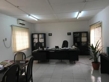 Fully Furnished and Air-conditioned Office Building with Ample Parking Space, Rivoc Road, Trans Amadi, Port Harcourt, Rivers, Office Space for Rent