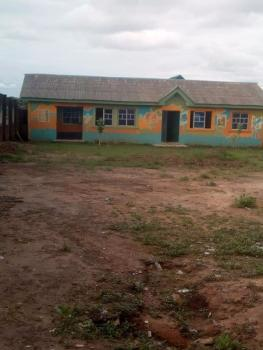 Well Built 2 Units of 2 Bedroom Flat Once Used for School on One Plot and Half Land, Agbado, Ifako, Agege, Lagos, House for Sale
