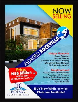 Boing Luxury Estate Land Abuja, 20 Mins Drive From Coza Church Headquarters., Asokoro District, Abuja, Mixed-use Land for Sale