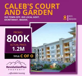 Caleb Court and Garden with Perfect Title/document  C of O, Ido Local Govt, Ido, Oyo, Residential Land for Sale