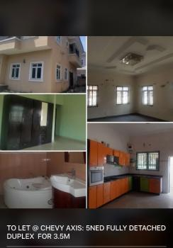 New 5 Bedrooms, Chevy View Estate, Lekki, Lagos, Detached Duplex for Rent