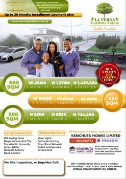 Estate Land, Close to Pan Atlantic University and Proposed Airport, Eleranigbe, Ibeju Lekki, Lagos, Residential Land for Sale