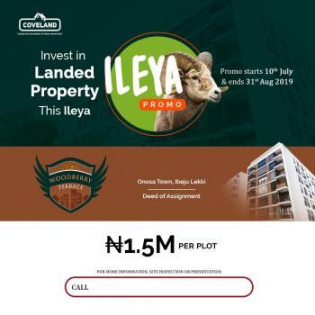 Estate Land, Close to Pan Atlantic University, Onosa, Ibeju Lekki, Lagos, Residential Land for Sale