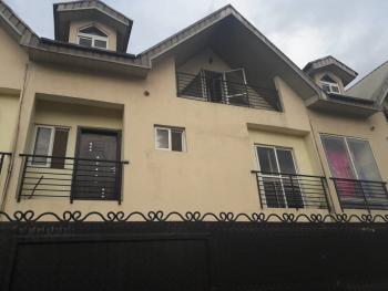 Decent 4 Bedrooms Self Compound Terraced Town House with Bq, Estate, Medina, Gbagada, Lagos, Terraced Duplex for Rent