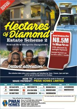 Estate Land, Off Monastery Road Behind Shoprite, Sangotedo, Ajah, Lagos, Mixed-use Land for Sale